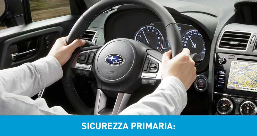 Sicurezza Primaria Subaru Officina Special Emme
