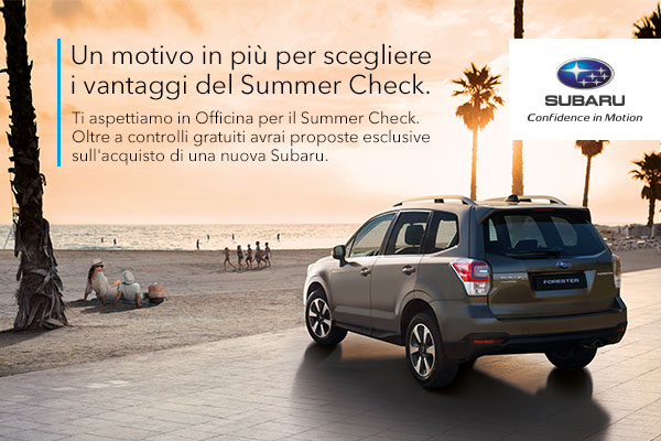 Summer Check Officina Special Emme